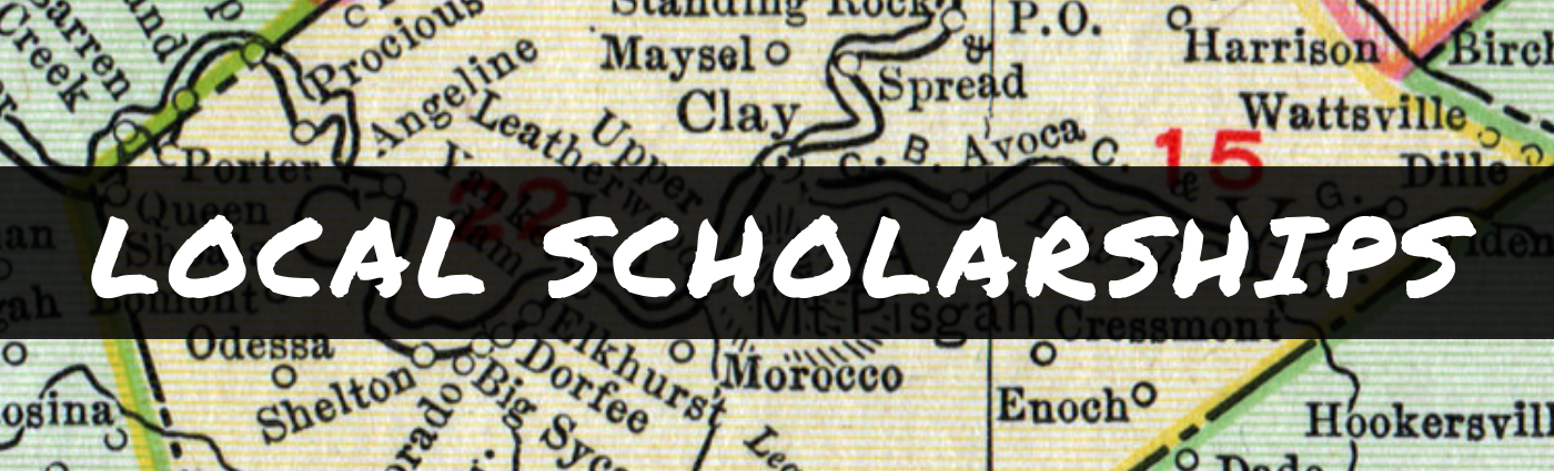 local scholarships banner